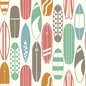 Surfing Pattern Background