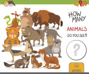 how many animals activity game