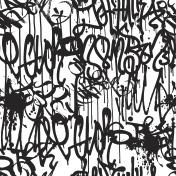 Graffiti Background Pattern
