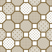 Japanese style tile seamless vector pattern