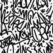Graffiti Art Seamless Pattern