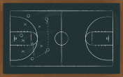 basketball court on board