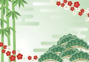 Pine bamboo plum.