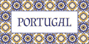 Portugal travel banner vector