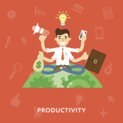 Business productivity concept.