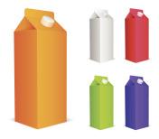 Color juice packs.
