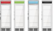 Display refrigerator. Merchandise fridge