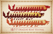 Poster of Traditional Race of Dragon Boat Festival