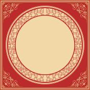 Vector Chinese Festival frame background