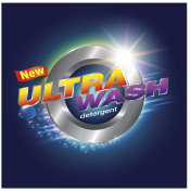 detergent Label Ultra wash