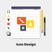 Icon Design Flat Illustration
