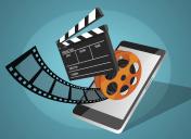 Online film in modern mobile phone