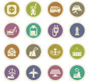 Industry paper stickers