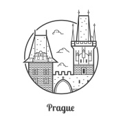 Travel Prague Icon