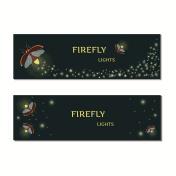 Firefly bug banner set