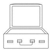 travel suitcase open icon