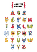 Poster of Monster Alphabet.