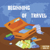 Beginning of travel