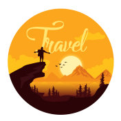 Travel. Vector Illustration