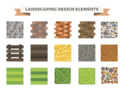 Landscaping garden design elements