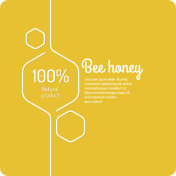 Background for bee products