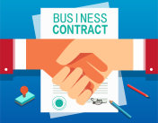 Sign a commercial contract