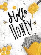 Poster hello honey