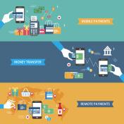 payments concept flat design