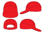 Baseball Cap Vector for Template