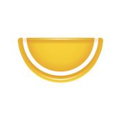 Orange slice jelly candy icon