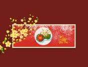 Happy new year. Vietnamese new year. Translation Tet  Lunar new year