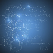 Abstract scientific math background