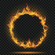 Ring of fire flame