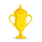 trophy winner tennis game