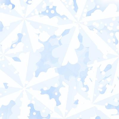 冬季雪花背景。圣诞节背景与雪花节日