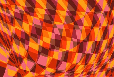 抽象方形背景图