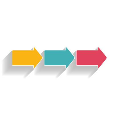 商务矢量图的图表模板
