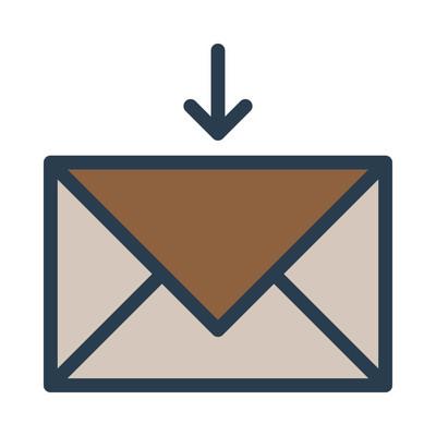 邮件图标矢量图