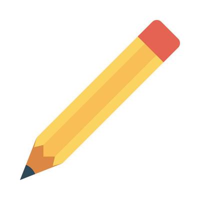 铅笔图标矢量图