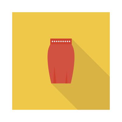 裙子图标矢量图