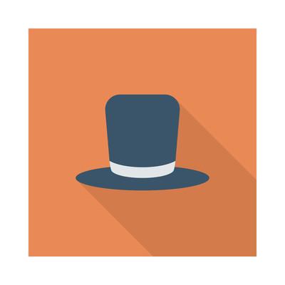 帽子图标矢量图