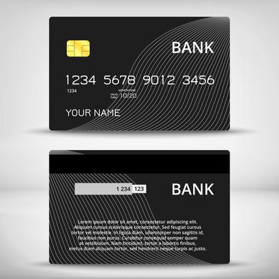 信用卡设计模板