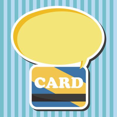 信用卡主题元素