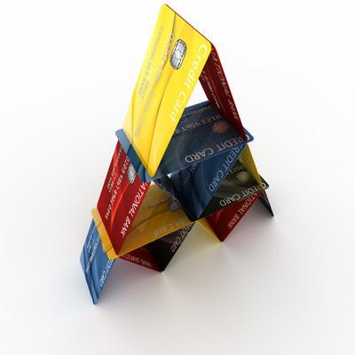 信用卡金字塔