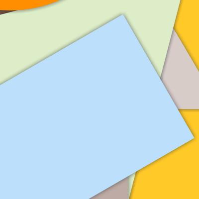 抽象现代分层平面形状背景的图解