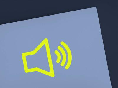 创意黄色电脑图标