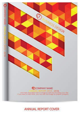 年度报告的封面设计