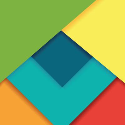 几何背景设计、 矢量图