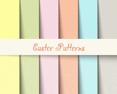 复活节模式春天背景