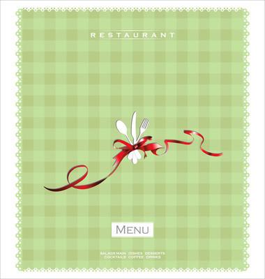 餐厅或咖啡馆的菜单设计